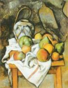 The Straw-covered Vase by Paul Cezanne