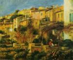 Terrace in Cagnes, 1905 by Pierre Auguste Renoir