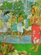 Hail Mary by Paul Gauguin