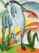 Blaues Pferd 1 by Franz Marc