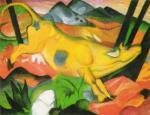 Gelbe Kuh by Franz Marc