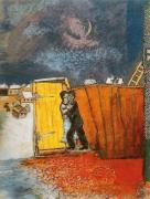 Moonlight by Marc Chagall