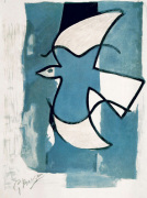 L'Oiseaux Bleu et Gris