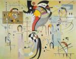 Milieu Accompagne, 1937 by Wassily Kandinsky