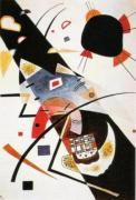 Two Black Spots, 1923 by Wassily Kandinsky
