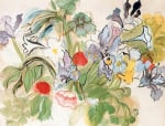 Coquelicots et Iris, 1948 by Raoul Dufy