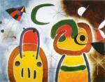 L'Oiseau au Plumage Deployé by Joan Miro