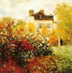 The Artist's Garden in Argentuil (detail)