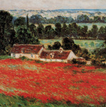 Field of Poppies at Giverny (detail)