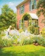 Betty in the Garden by William McGregor Paxton