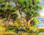 Landscape on the Coast, near Menton by Pierre Auguste Renoir