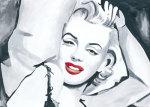Marilyn Monroe III by Irene Celic