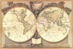 New Map Of The World 1794