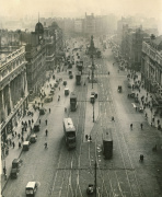 Nelson Pillar in Dublin, 1931 by Mirrorpix