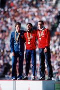 Moscow Olympics 1980 : Sebastian Coe wins the gold medal for the 1500 metres by Mirrorpix