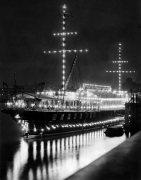 H.M.S. President, River Thames 1935 by Mirrorpix