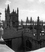Roof top view of Oxford by Mirrorpix