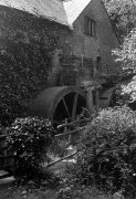 The Old water Mill at Dunsterr, Somerset 1921 by Mirrorpix
