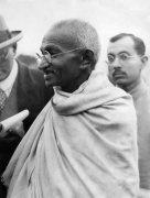 Mahatma Gandhi visiting Britain, 1932 by Mirrorpix