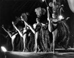 Chorus girls: British girls in Magic Italian Circus by Mirrorpix