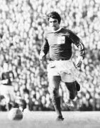 George Best playing for Northern Ireland, 1967 by Mirrorpix
