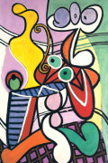 Large Still Life with Pedestal Table by Pablo Picasso