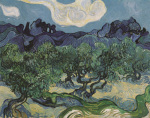 Olive Trees, 1889 by Vincent Van Gogh