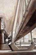 London Bridges & the Gherkin - Golden Jubilee Bridge by Mark Raggett