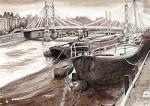 London Bridges - Albert Bridge by Mark Raggett