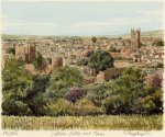 Ludlow - Castle and Town by Glyn Martin