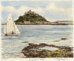 St. Michael's Mount by Glyn Martin