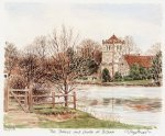 Thames at Bisham by Glyn Martin