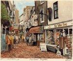 Brighton - The Lanes by Philip Martin