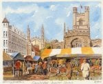 Cambridge - Market Square by Philip Martin