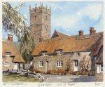 Isle of Wight - Godshill by Philip Martin