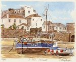 St. Ives Harbour & Town by Glyn Martin