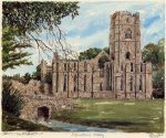 Fountains Abbey by Philip Martin
