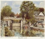 Maidenhead - Boulter's Lock by Philip Martin