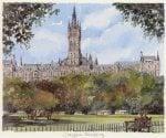 Glasgow - University by Philip Martin