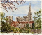 Chichester Cathedral - West by Glyn Martin