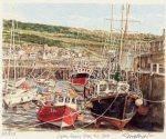 Lyme Regis - The Cobb by Glyn Martin