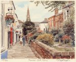 Taunton - Bath Place by Glyn Martin