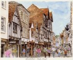 Winchester High Street by Glyn Martin