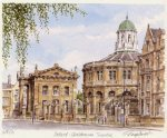 Oxford - Sheldonian Theatre by Glyn Martin