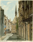 Oxford - Ship Street by Philip Martin