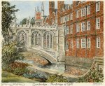 Cambridge - Bridge of Sighs by Philip Martin