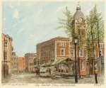 Chesterfield - Market Place by Philip Martin