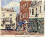 Brighton - Market Place by Glyn Martin