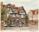 Pangbourne - The Old George by Glyn Martin