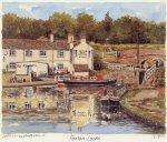 Foxton Locks by Philip Martin
